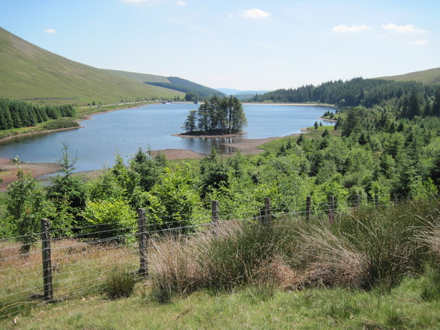 Beacons Reservoir from Taff Trail