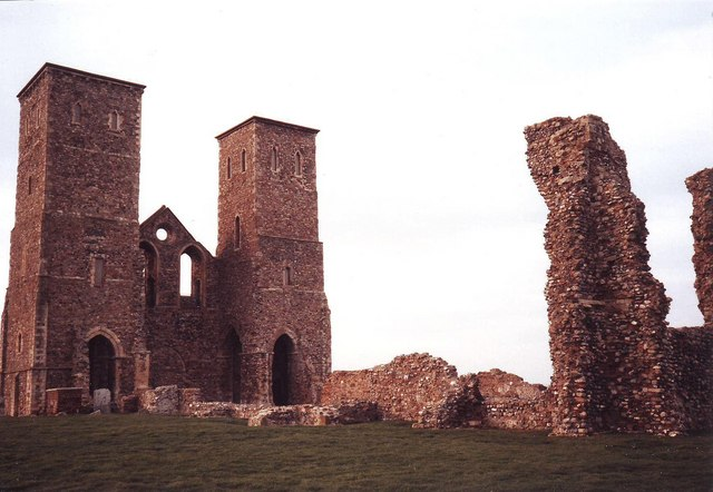 Ruin of St Mary's at Reculver, Kent