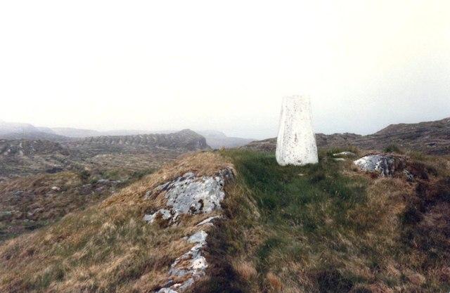 Triangular Pillar on Cruach Brenfield