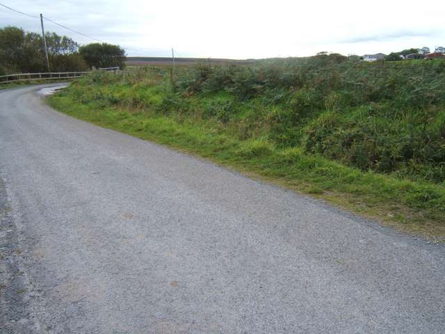 Road by the Car Park