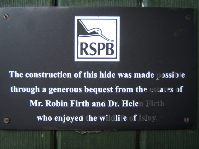 Plaque on the Hide