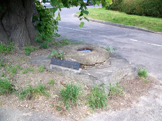Remains of village cross, Winterborne Stickland