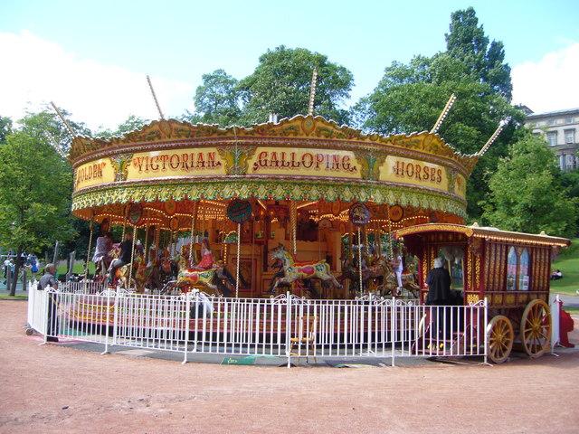 Victorian Galloping Horses