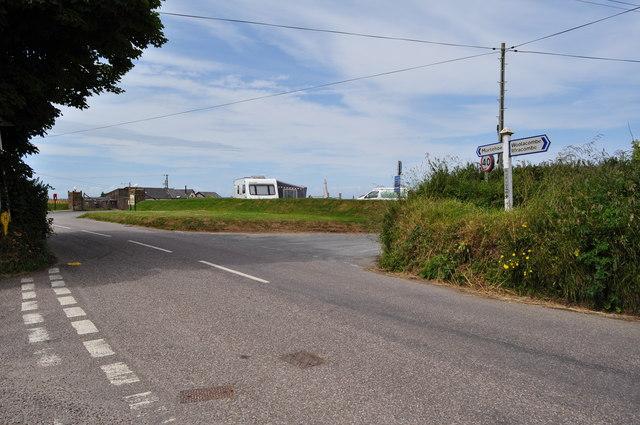 Borough Cross on Mortehoe Station Road