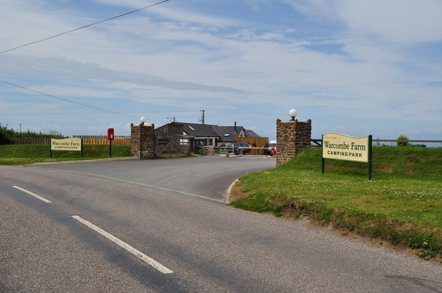 Warcombe Farm Camping Park on Mortehoe Station Road