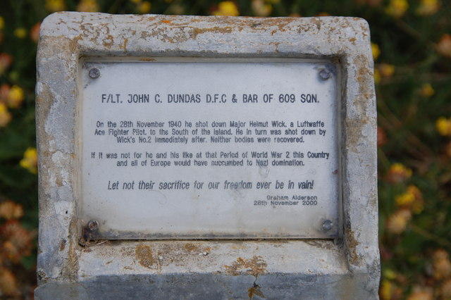 F/LT John C Dundas. Thank you and your kind.