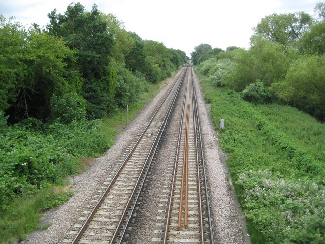 Staines: Windsor branch line railway