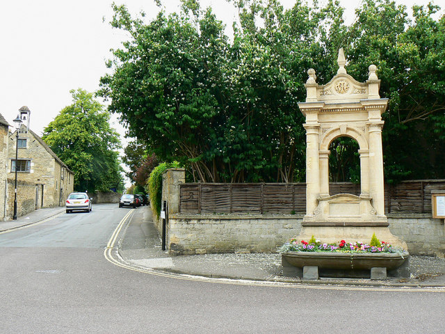 Junction of High Street and Priory Street, Corsham