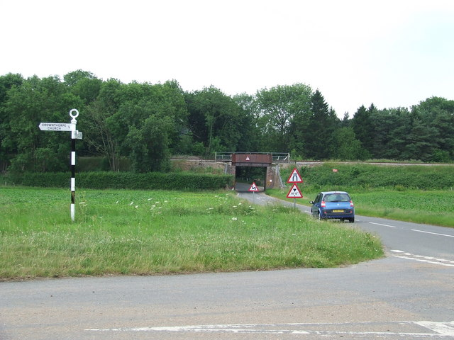Bridge And Road Junction