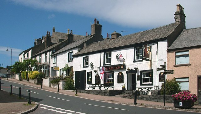 The Red Lion public house on Market Street