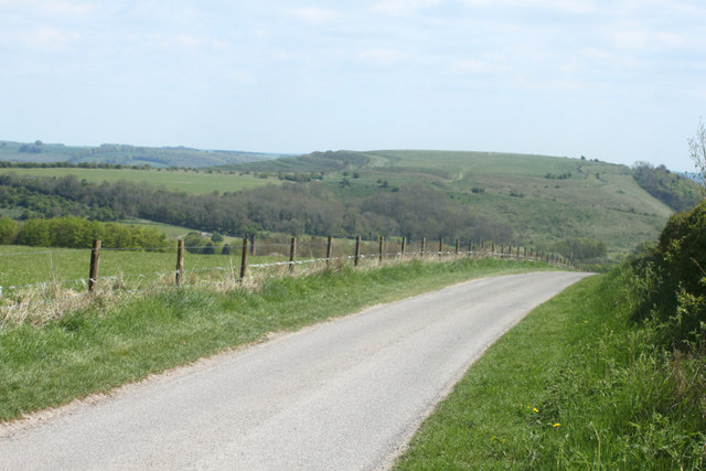 2010 : Minor road on Cradle Hill
