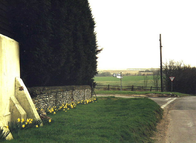Junction at Tea Green near Luton