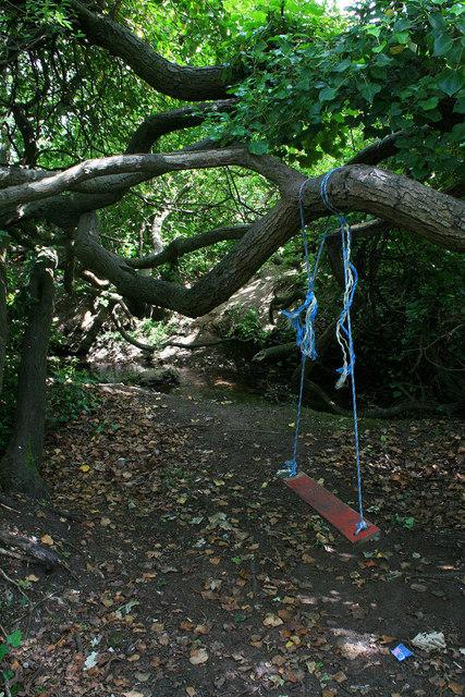 Improvised swing