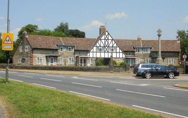 Former almshouses, Church Road, Lydney