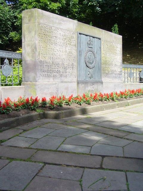Royal Scots Memorial, Princes Street Gardens