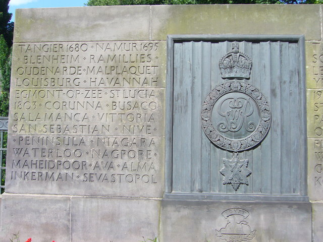 Royal Scots battle honours