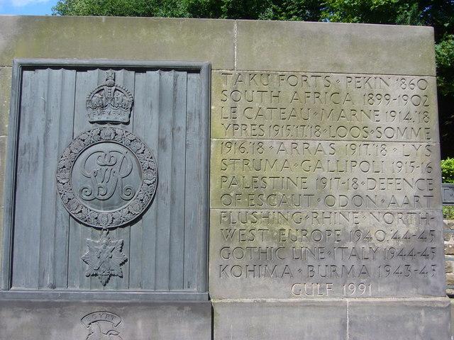 Royal Scots battle honours