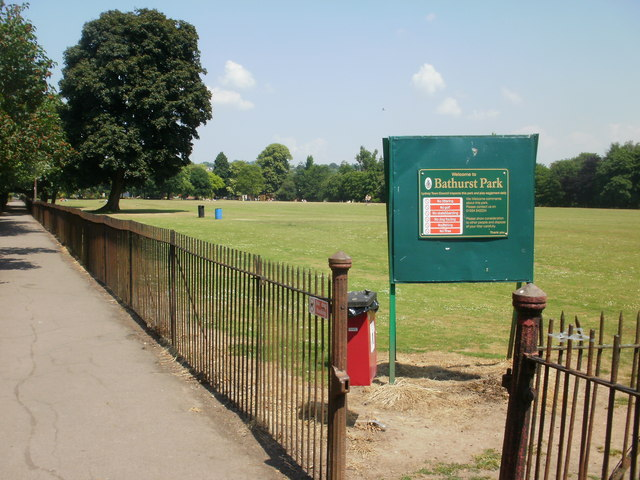 Entrance to Bathurst Park, Lydney
