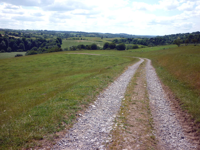 The track down to Lanerton