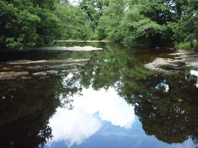 The River Irthing below Denton Scar