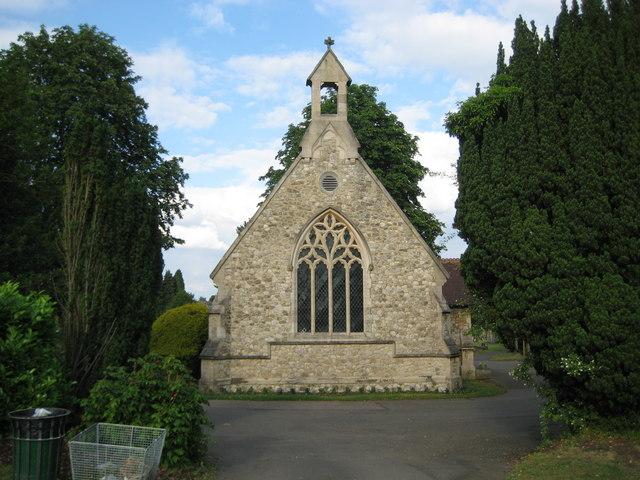 St Albans: Hatfield Road Cemetery Chapel