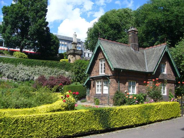 Garden Keeper's Lodge, Princes Street Gardens