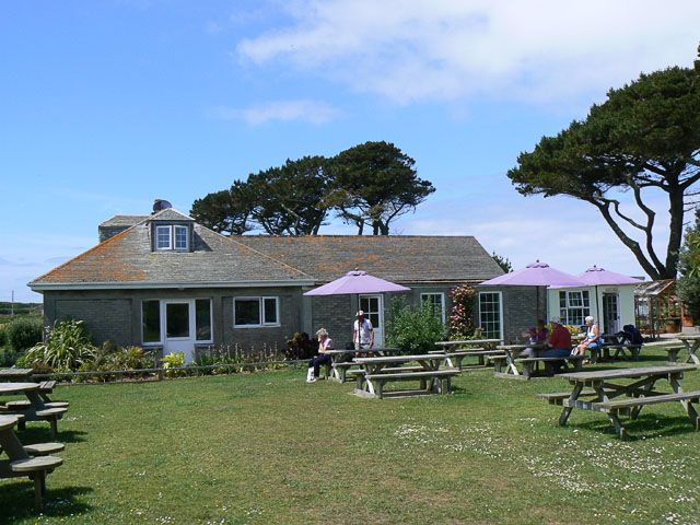 Carn Vean cafe, near Pelistry, St Mary's, Scilly