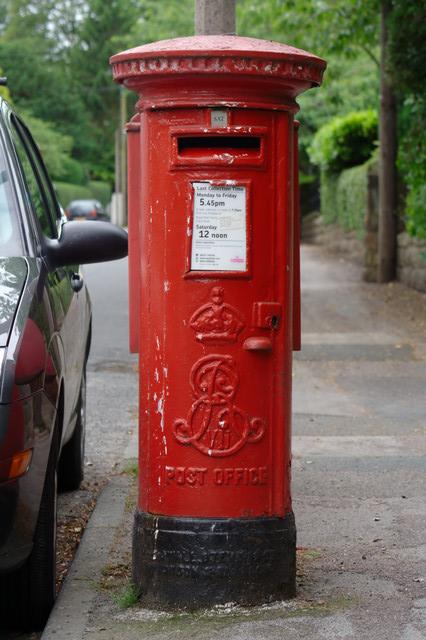 Edward VII Postbox, Duchy Road