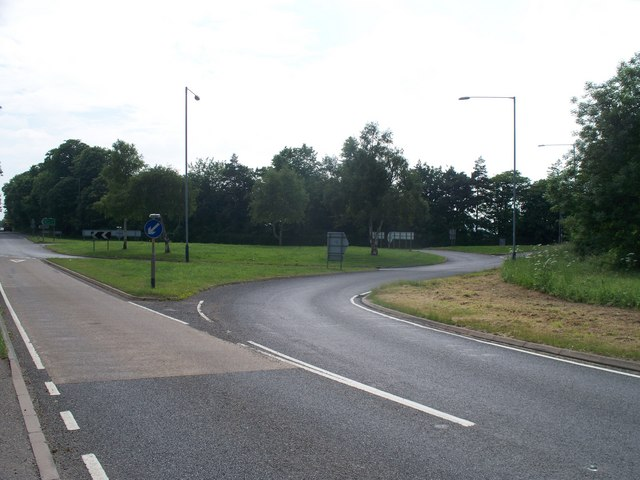 Roundabout on the Fosse Way