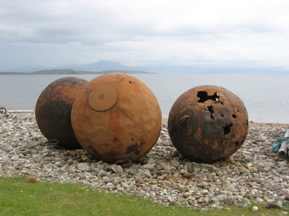 Rusting Buoys, Badentarbet Bay