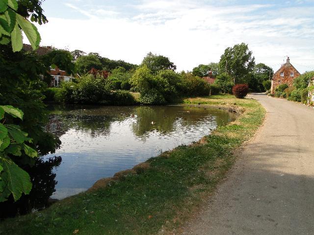 Village pond at Old Hunstanton