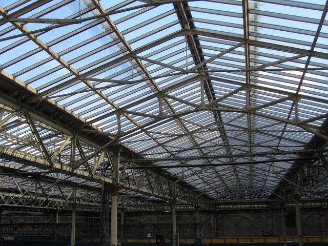 Waverley Station roof