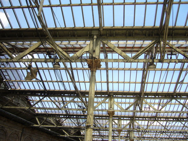 Waverley Station roof