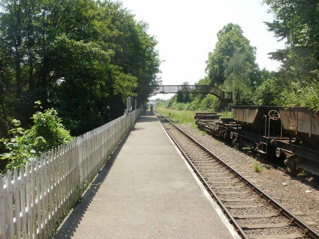 Platform, St Mary's Halt, Lydney