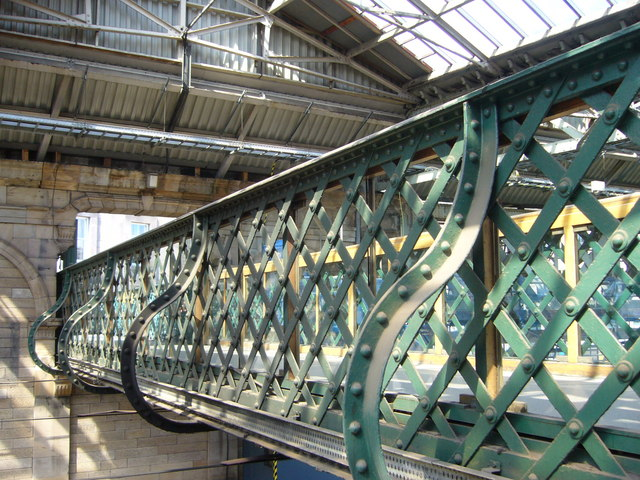 Waverley Station footbridge