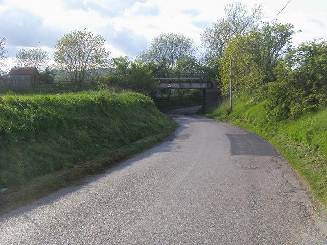 Railway by Lower Powburn