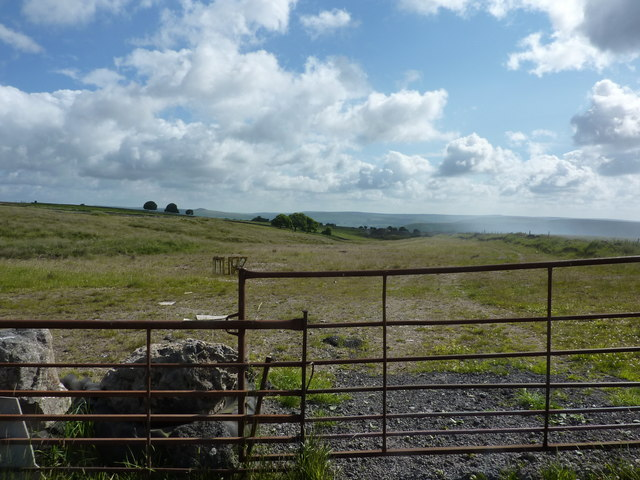 Gates on Tideswell Moor