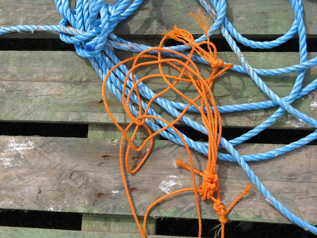 Fishermen's Rope, Old Dornie Quay