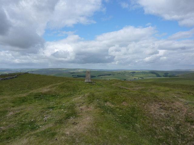 Trig Point; Bradwell Moor