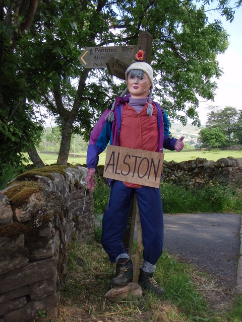 Pennine Way : Alston