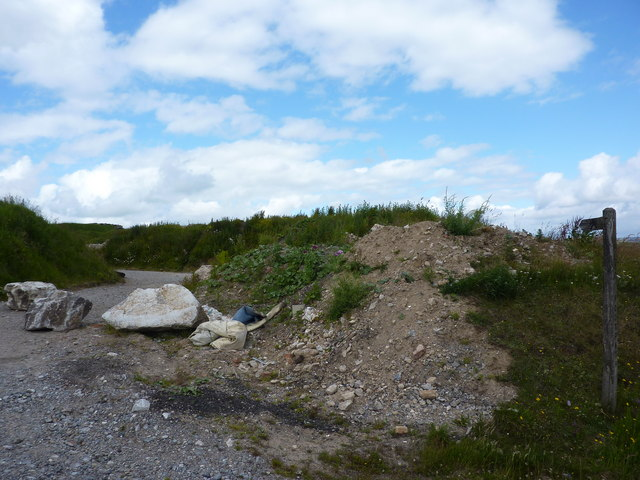 Nature reclaims spoil heaps