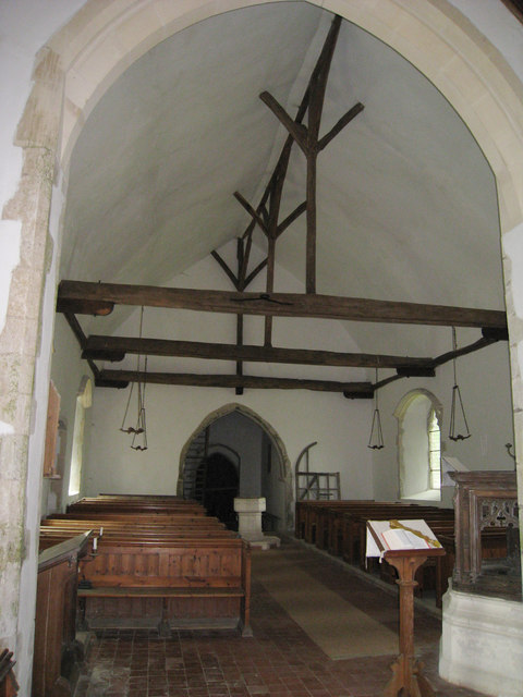 Inside Church of St Augustine