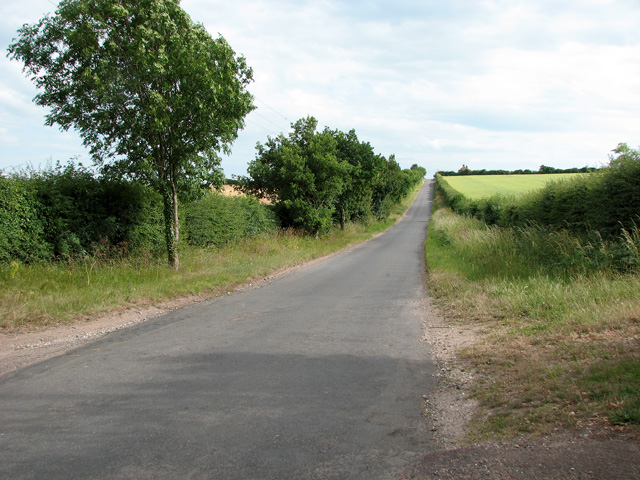 The lane from Ringstead to Sedgeford