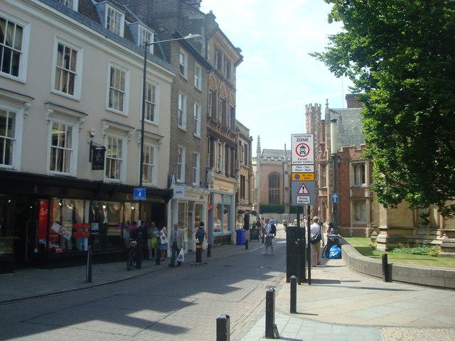 Saint John's Street, Cambridge