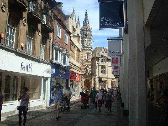 Petty Cury, Cambridge