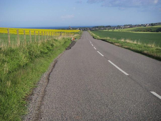 B967 to Inverbervie