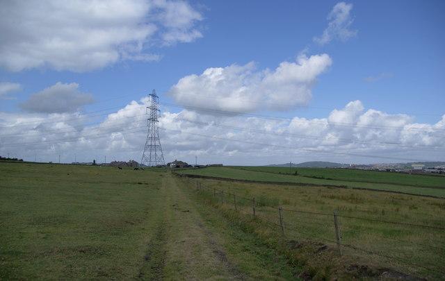 Path approaching Blackhill Farm