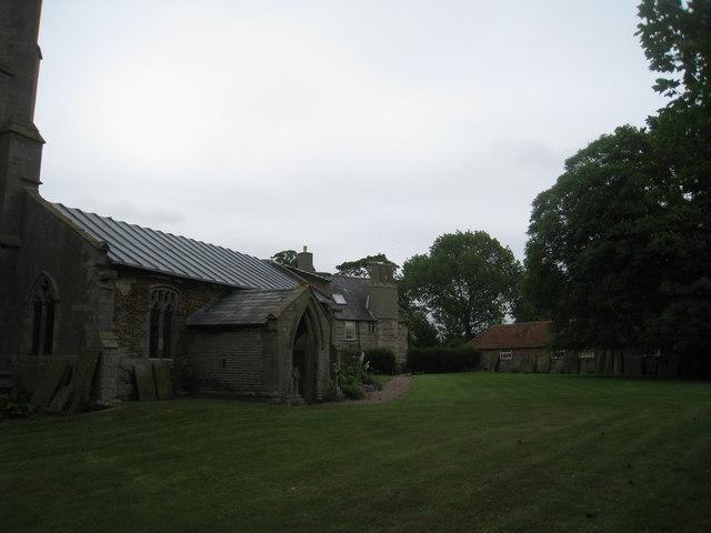 Fenton churchyard