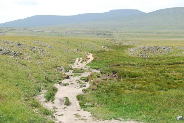 The Sulber Nick Path towards Ingleborough