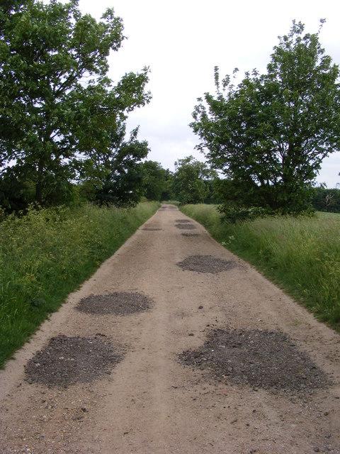 Bridleway near Searson's Farm